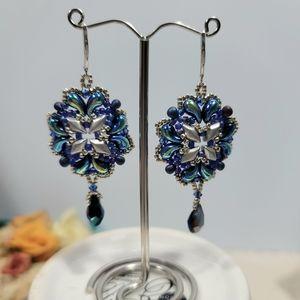 Beautiful Hand-beaded Earrings
